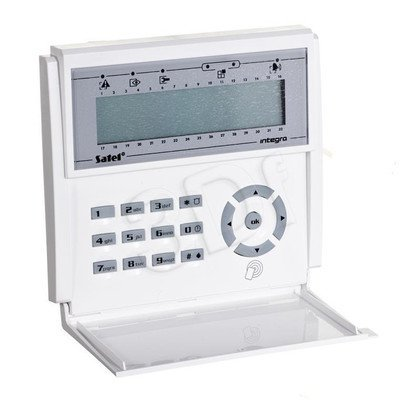 SATEL INT-KLCDR-BL Manipulator LCD (niebieskie podświetlenie)