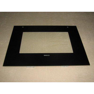 Szyba przednia drzwi piekarnika 59x45 cm (290000005)