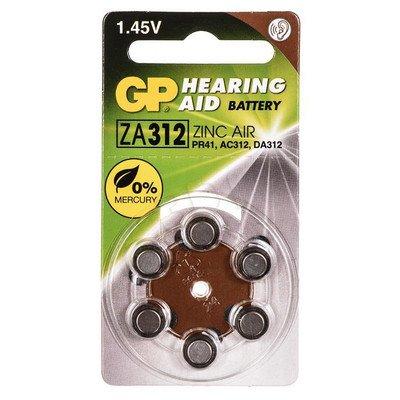 GP Bateria do aparatów słuchowych PR41 blister 6szt.