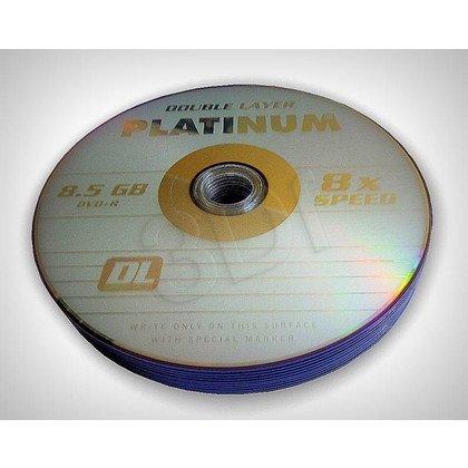 DVD+R PLATINUM 8,5 GB 8X DOUBLE LAYER SHRINK 10SZT
