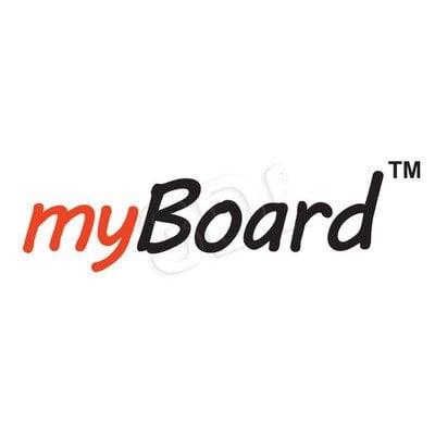 Uchwyt ścienny z regulowaną wysokością i wysięgnikiem do projektora MyBoard
