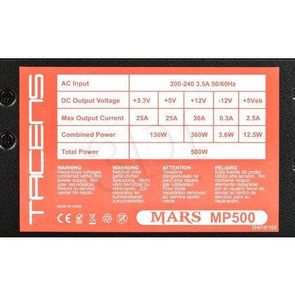 Zasilacz Tacens Mars MP500 (500W) 80+ BRONZE