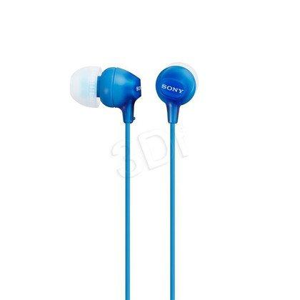 Słuchawki douszne Sony MDR-EX15LPLI (Niebieski)