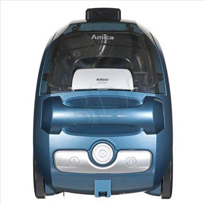 Odkurzacz Amica Bagio (cyklonowy 1600W czarno-srebrno-niebieski)