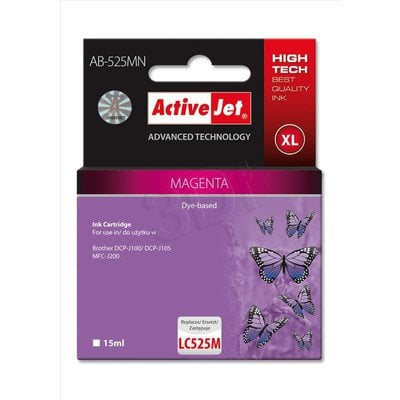 ActiveJet AB-525MN tusz magenta do drukarki Brother (zamiennik Brother LC525M) Supreme