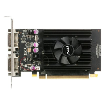 MSI GeForce 210 1024MB DDR3/64bit DVI/HDMI PCI-E (589/1000) (Low Profile) (chłodzenie pasywne)