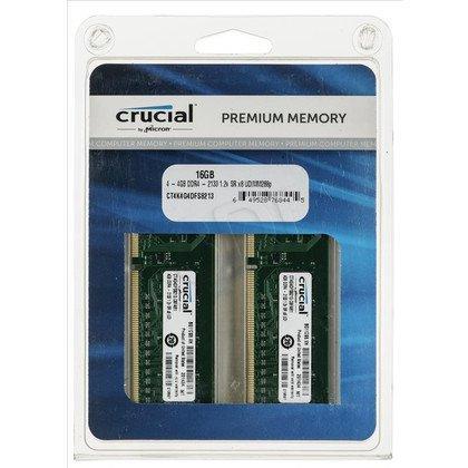 Crucial CT4K4G4DFS8213 DDR4 UDIMM 16GB 2133MT/s (4x4GB)