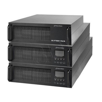 "POWER WALKER UPS ON-LINE 10000VA 1X IEC OUT + TERMINAL, USB/RS-232, LCD RACK 19"" BATERIE W ZESTAWIE"