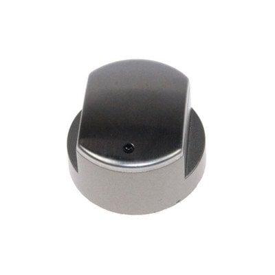 Pokrętło palnika płyty gazowej srebrne Whirlpool (480121104812)
