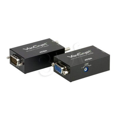 ATEN VE-022 VIDEO AUDIO MINI EXTENDER Over Cat.5