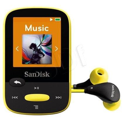 SANDISK MP3 SANSA CLIP SPORTS 8GB ŻÓŁTA