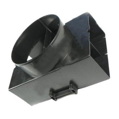 Deflektor/Złącze filtrujące do okapu Whirpool (480122100655)