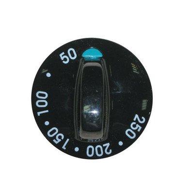 Pokrętło czarne - temperatury 50-250oC (9051829)