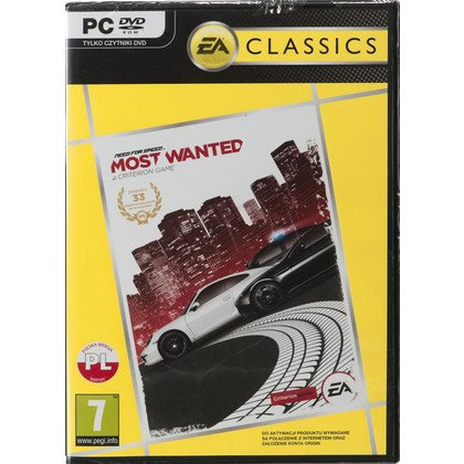 Gra PC Need For Speed Most Wanted Classic 2012