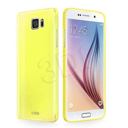 SBS FUTERAŁ FLUO Extraslim do Galaxy S6 żółty