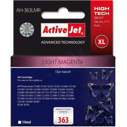 ActiveJet AH-363LMR (AH-775) tusz light magenta do drukarki HP (zamiennik HP 363 C8775EE)