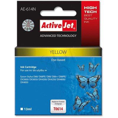 ActiveJet AE-614N (AE-614) tusz yellow pasuje do drukarki Epson (zamiennik T0614)