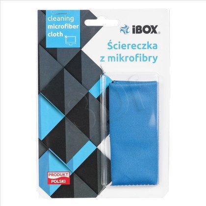 IBOX ŚCIERECZKA Z MIKROFIBRY 13X18CM