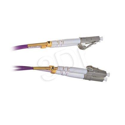 ALANTEC patchcord światłowodowy MM LSOH FOC-LCLC-5MMD-2-4 2m OM4 LC-LC duplex 50/125 fioletowy