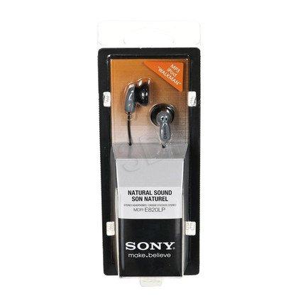 Słuchawki douszne Sony MDR-E820 (czarne)