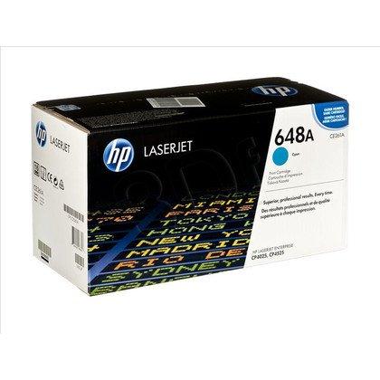HP Toner Niebieski HP648A=CE261A, 11000 str.