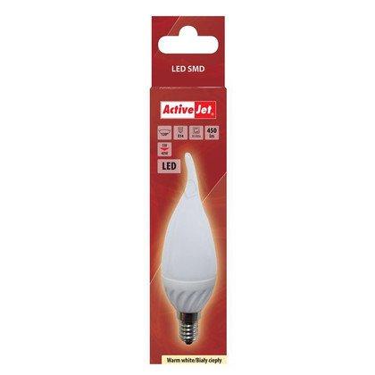 ActiveJet AJE-DS2014CF Lampa LED SMD płomyk 450lm 5W E14 barwa ciepła