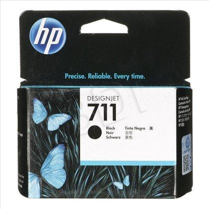 HP Tusz Czarny HP711=CZ133A, 80 ml
