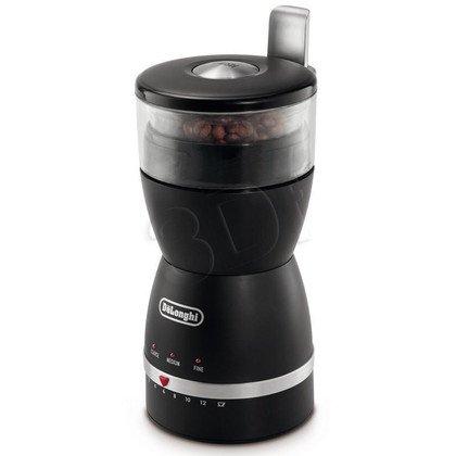 Młynek do kawy Delonghi KG49 (170W Udarowy Czarno-srebrny)