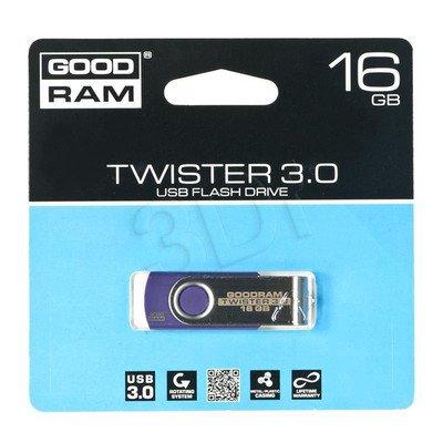 Goodram Flashdrive TWISTER 16GB USB 3.0 Fioletowy