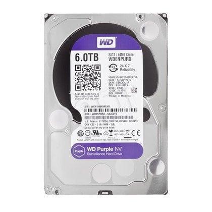 """Dysk HDD Western Digital WD PURPLE NV 3,5"""" 6000GB SATA III 64MB"""