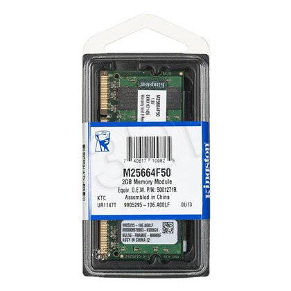KINGSTON DED.NB M25664F50 2GB 667MHz DDR2