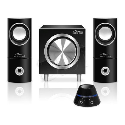 MEDIA-TECH GŁOŚNIKI 2.1 SPEAKERS SET 2.1 MT3325