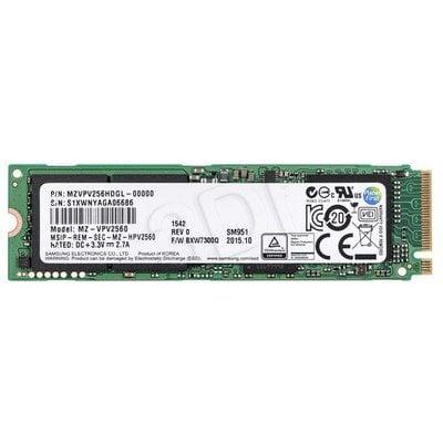 Dysk SSD Samsung SM951 256GB M.2.PCIe NVMe MZVPV256HDGL