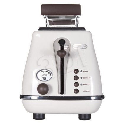 Toster Delonghi ICONA VINTAGE CTOV 2103.BG (900W/beżowo-brązowy)