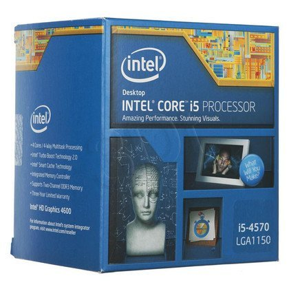 PROCESOR CORE I5 4570 3.2GHz LGA1150 BOX