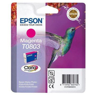 EPSON Tusz Czerwony T0803=C13T08034011, 8 ml