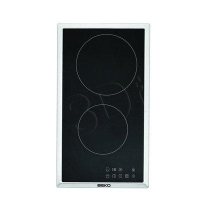 Płyta ceramiczna BEKO HDMC 32400 TX (elektryczna/ 2 pola elektryczne/ czarna/ 3000W)
