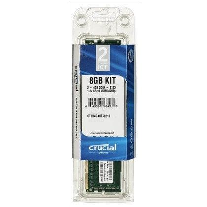 Crucial CT2K4G4DFS8213 DDR4 UDIMM 8GB 2133MT/s (2x4GB)