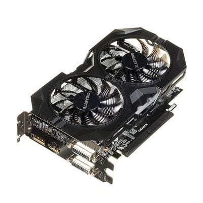 GIGABYTE GeForce GTX 950 2048MB DDR5/128bit DVI/HDMI/DP PCI-E (1279/6610) (wer. OC - OverClock) (wentylator WindForce II)