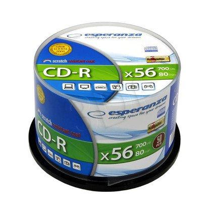 CD-R Esperanza 700MB/80MIN 52xSpeed (Cake 50szt)