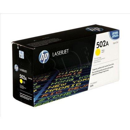 HP Toner Żółty HP502A=Q6472A, 4000 str.