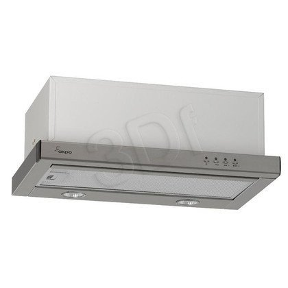 Okap Telskopowy Akpo WK-7 LIGHT PLUS 60 INOX (Inox 197m3/h 600mm)