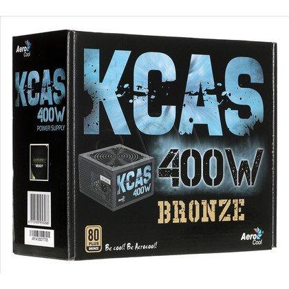 ZASILACZ AEROCOOL KCAS-400 (400W) 80+ BRONZE
