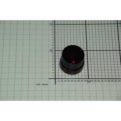 Pokrętło scandium15 1653 czarne (9046977)