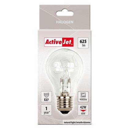 ActiveJet żarówka halogenowa AJE-H4227B E27 42W-->60W