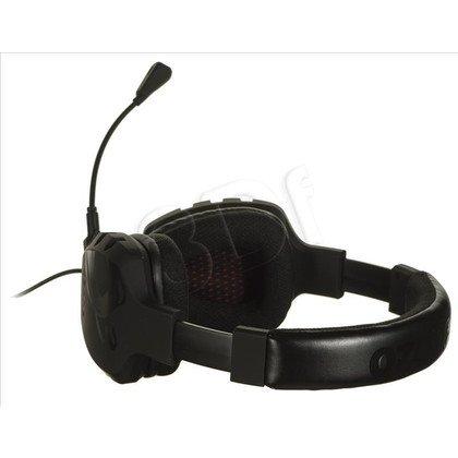 Słuchawki wokółuszne z mikrofonem OZONE RAGE ST (Czarny)