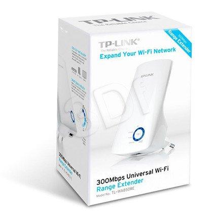 TP-LINK TL-WA850RE Uniwersalny wzmacniacz sieci bezprzewodowej, 300Mb/s