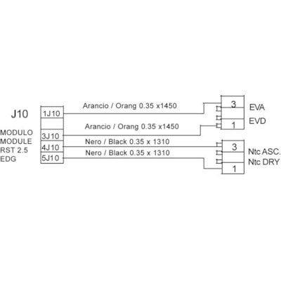 Okablowanie elektrozaworów / NTC X MOD.3.5 (C00142746)