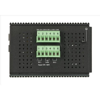 PLANET IGS-10020PT Switch przem. 8xGE PoE 2xSFP