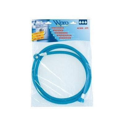 Wąż dopływowy pralki / zmywarki wzmocniony 1,5 m Whirlpool (484000001132)